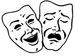 masks of comedy and tragedy 1